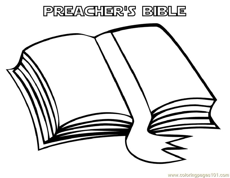 bible book coloring page free books coloring pages