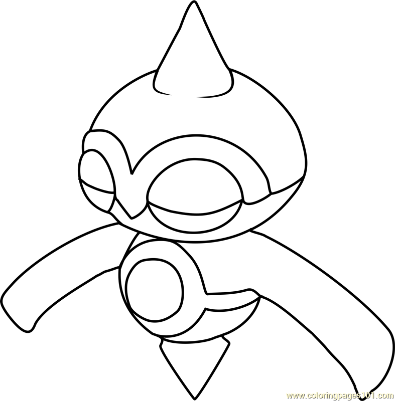 Baltoy Pokemon Coloring Page Free Pokmon Coloring Pages