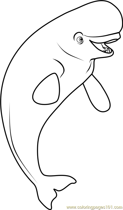 Bailey Coloring Page Free Finding Dory Coloring Pages
