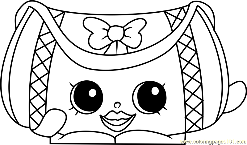 Duffa Shopkins Coloring Page Free Shopkins Coloring