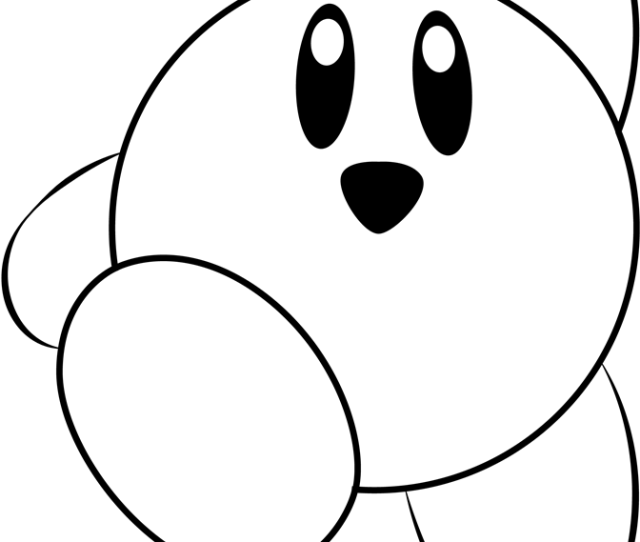 Kirby Coloring Page Free Kirby Coloring Pages Coloringpages Com