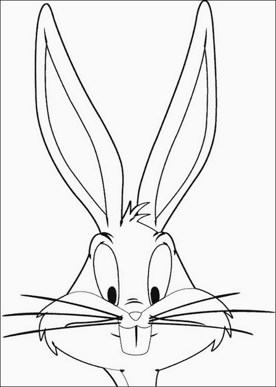 bugs bunny coloring pages 7 com jpg