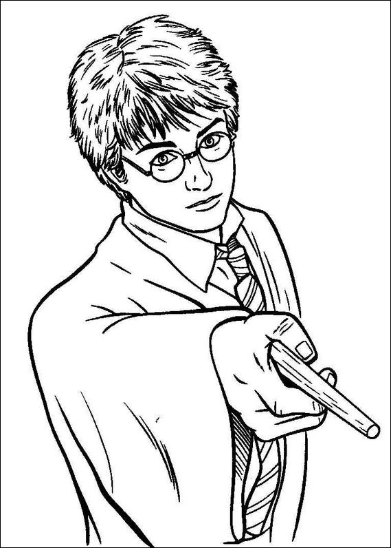harry potter 023 coloring page