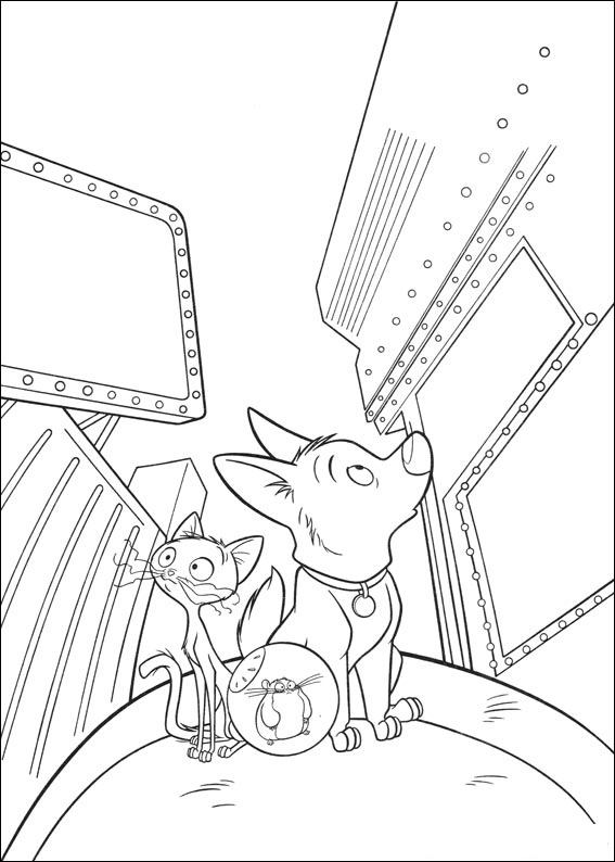 bolt and friends 2 coloring pages 7 com jpg