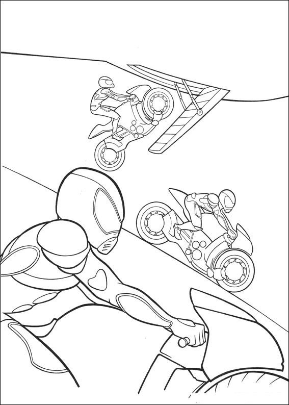 bolt bad guys coloring pages 7 com jpg