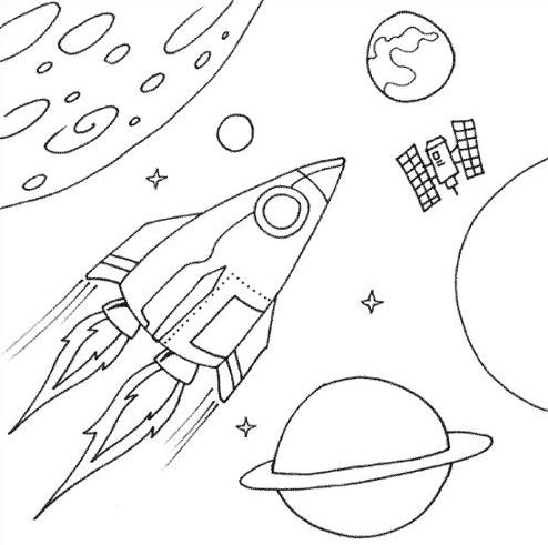 spaceship coloring pages 7 com jpeg