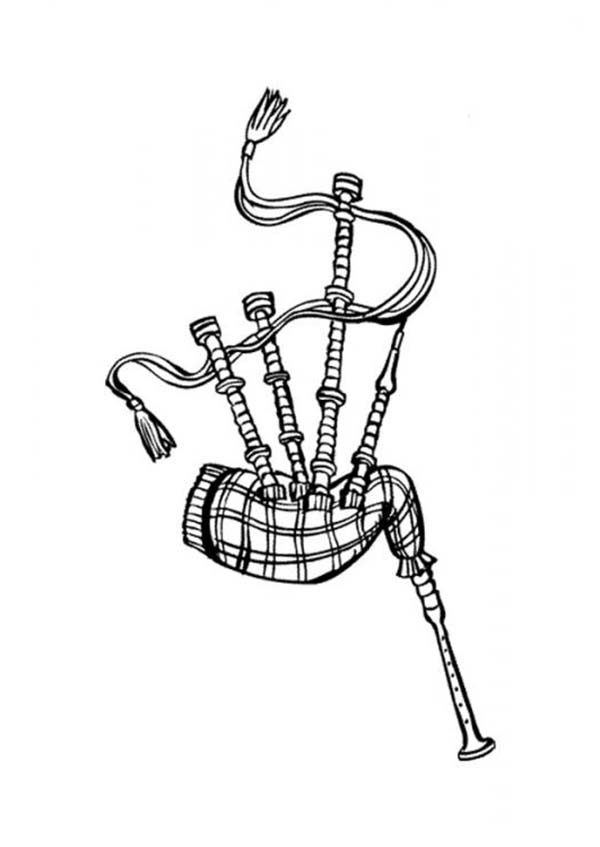 Scottish bagpipes coloring page coloring sky, i love my dad coloring pages