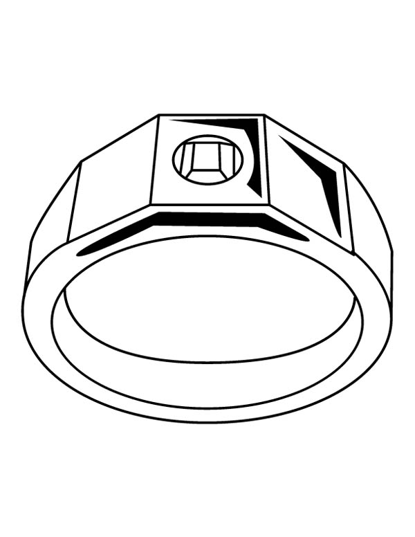 wedding ring jewelry coloring page  coloring sky