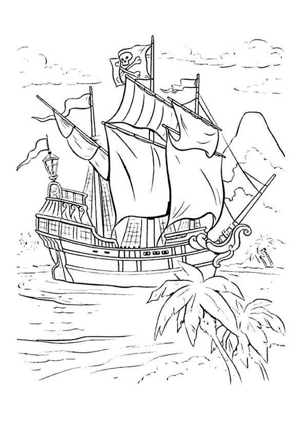 peter pan coloring page # 44