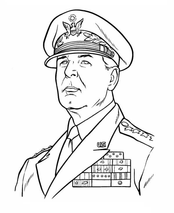 General Douglas Macarthur Celebrating Veterans Day