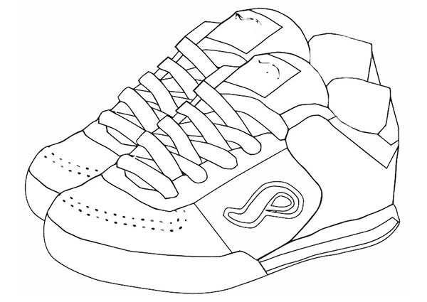 Coloring Pages Shoes Shoes Coloring Pages Barbie In The Pink Shoes