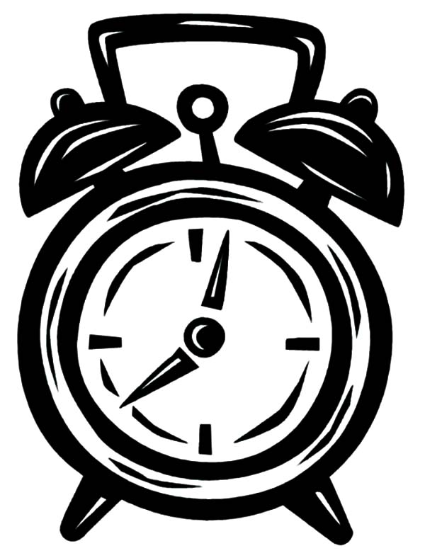 alarm clock coloring pages 10 alarm clock coloring pages 10
