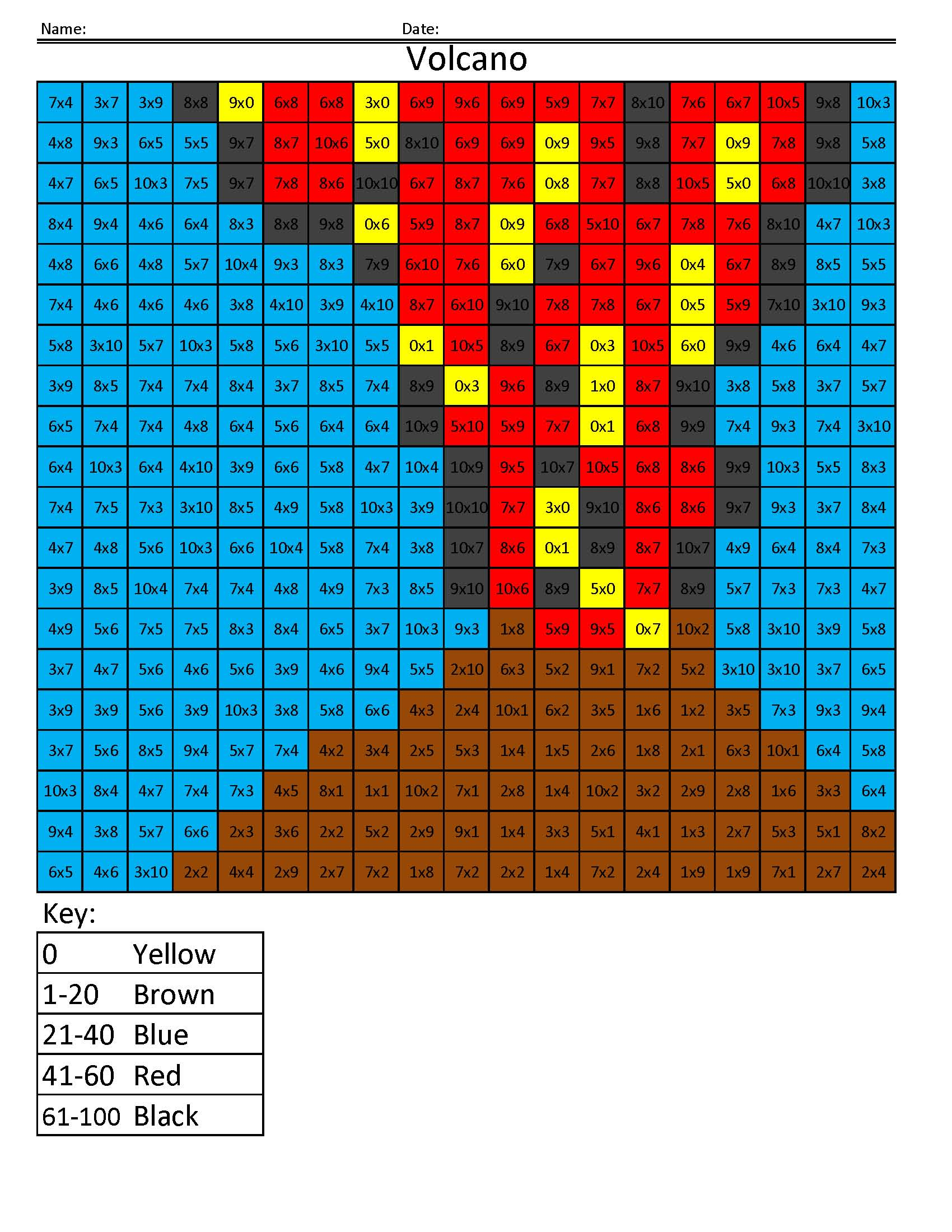 Free Coloring Pages Pixel Art Coloring Book Math For Kids