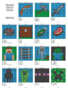 Coloring Pages That Combine Pixel Art Amp Math Homeschool