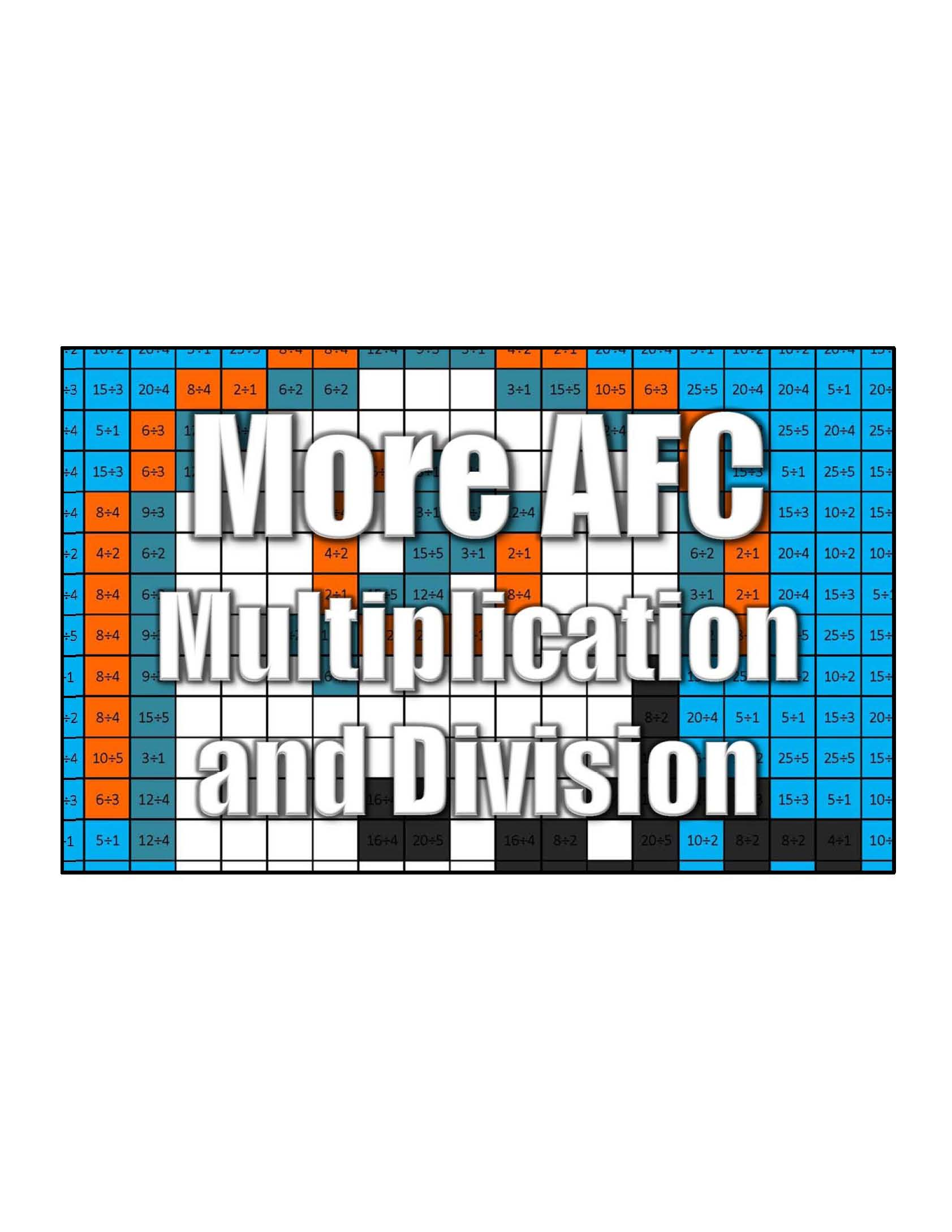Get More Afc Multiplication And Division