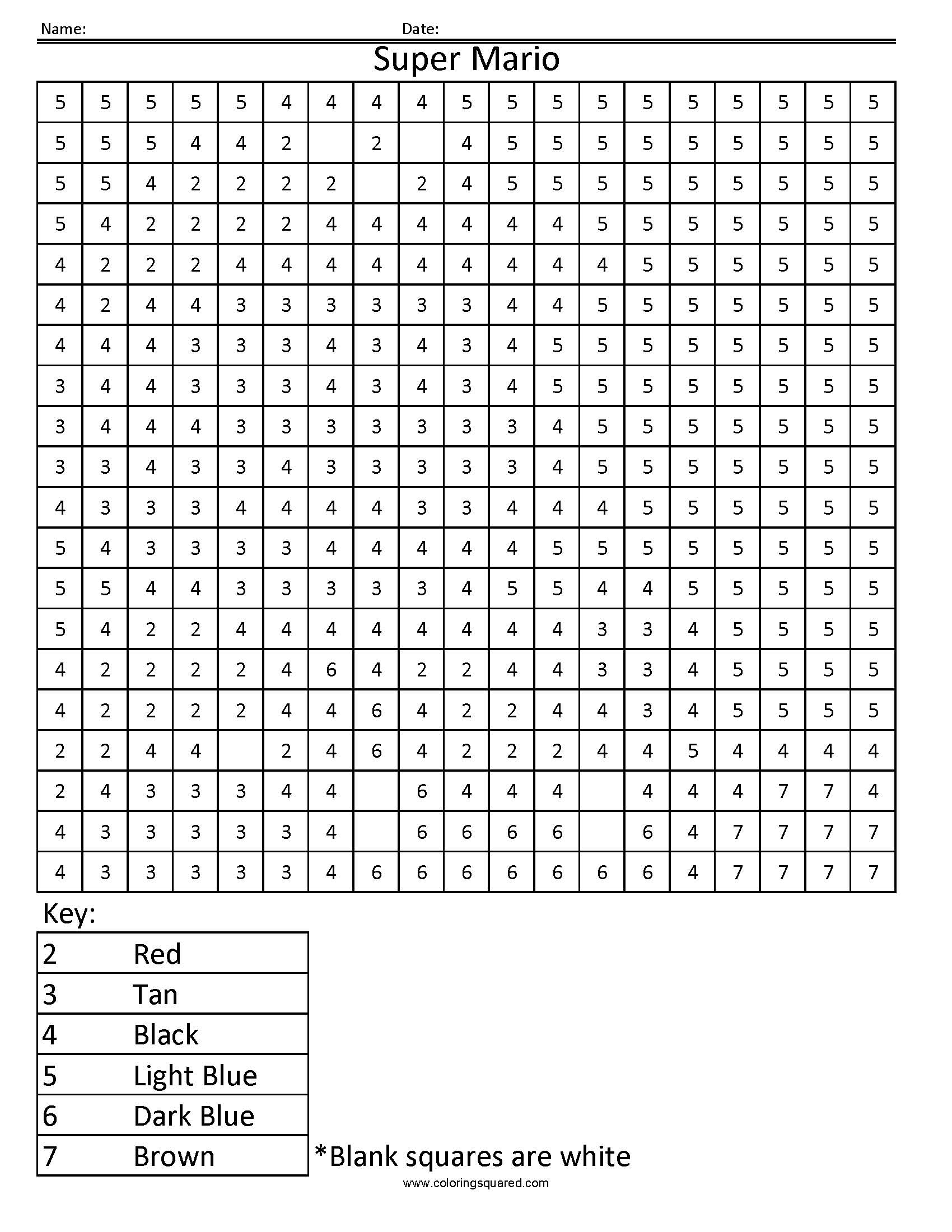 Search Results For Multiplication Color By Number Math Worksheet Calendar
