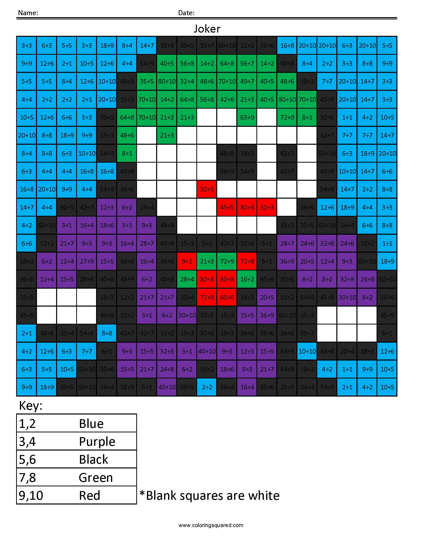 Joker Multiplication