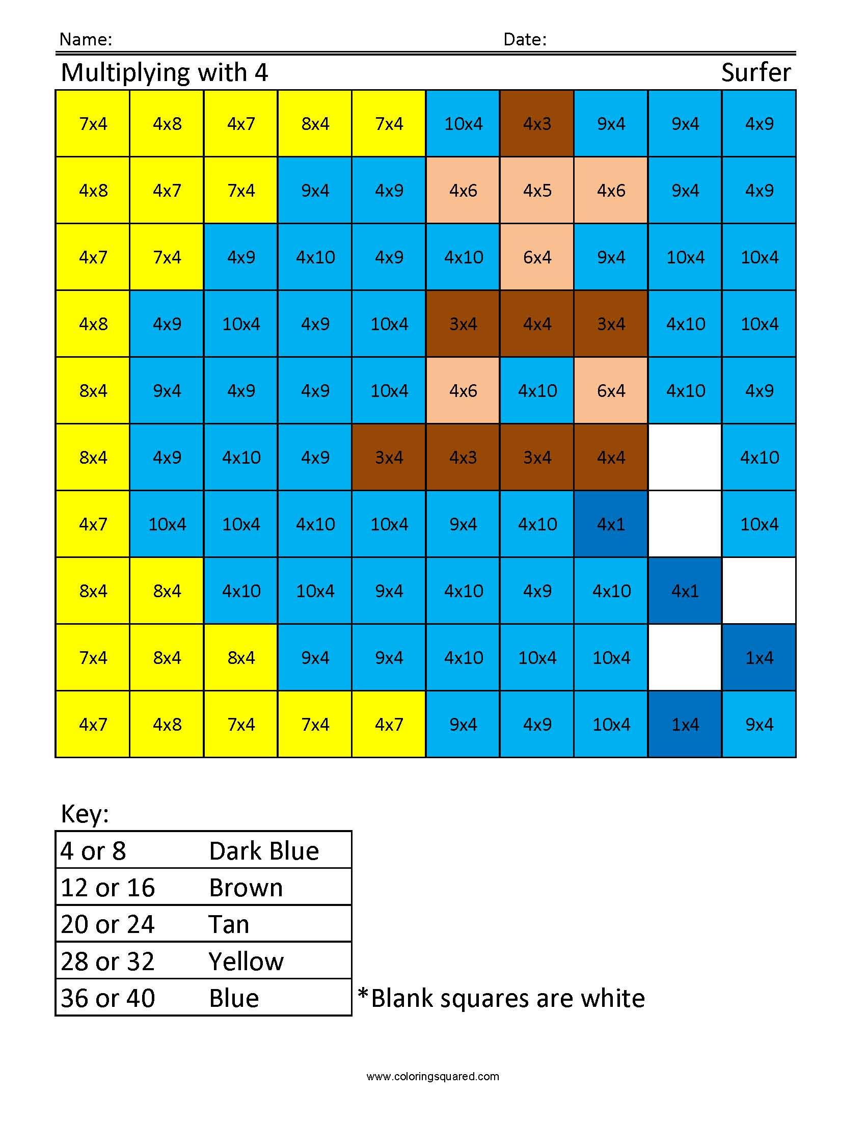 Times Table Starter Activities Ks2