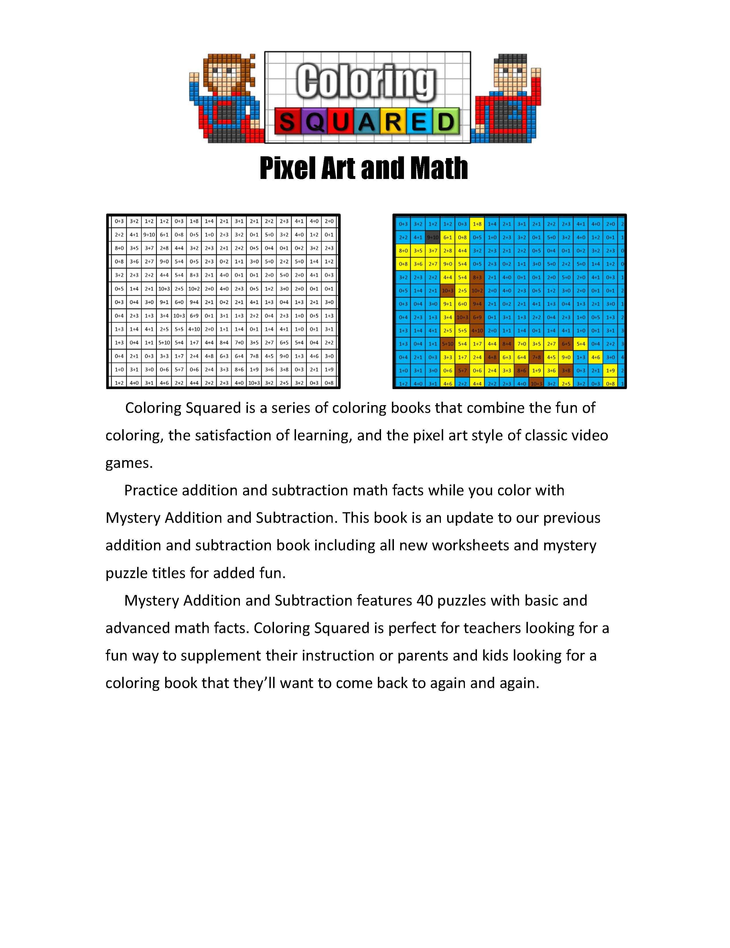 Mystery Addition And Subtraction