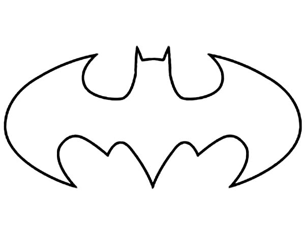 batman logo coloring pages aaldtk