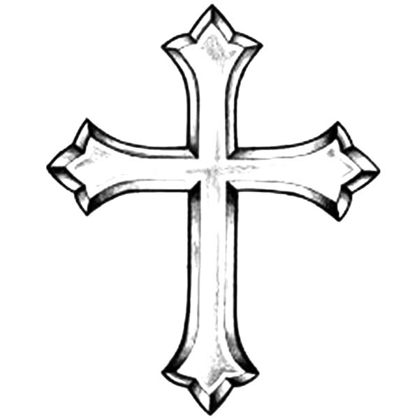 picture of christian cross coloring page coloring sun
