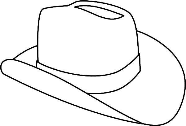 cowboy hat outline coloring pages coloring sun