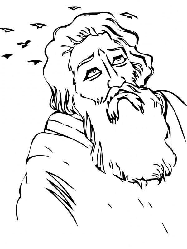 Elijah And The Widow Coloring Page. displaying 15 gt images ...