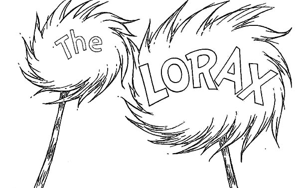 the lorax amazing truffula tree coloring pages the lorax amazing