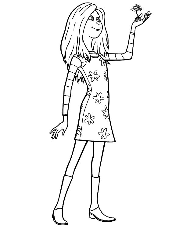 the lorax audrey hold truffula tree seed coloring pages the lorax
