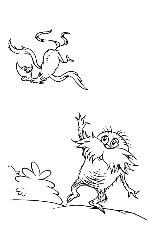 the lorax look devastated coloring pages the lorax look