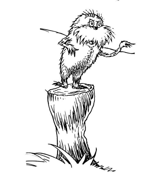 dr seuss coloring sheets the lorax 1000 images about dr seuss on