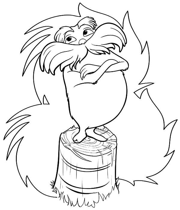 the lorax try to protect truffula tree coloring pages coloring sun