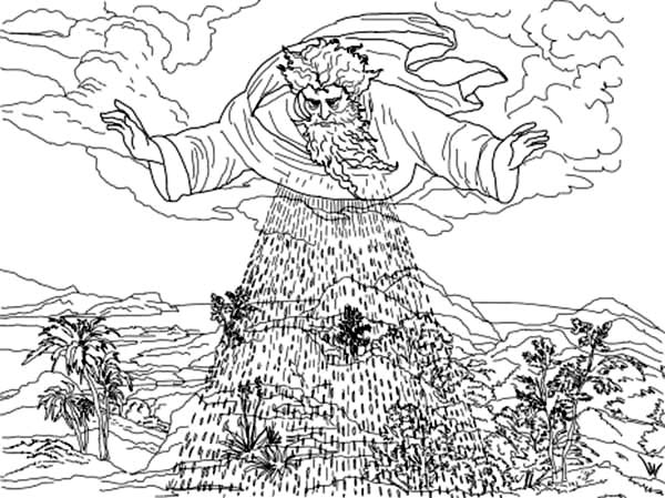 third days of creation coloring pages coloring sun