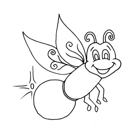 Firefly Coloring Pages Kids Coloring Pages Download