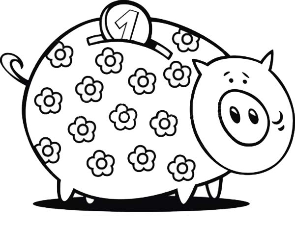 banking coloring pages for kids - photo#31