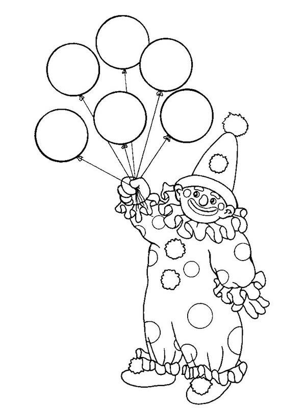 Balloons Coloring Page. russell on the balloons coloring page free ...