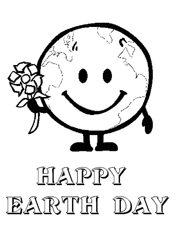recycle the world on earth day coloring page color luna