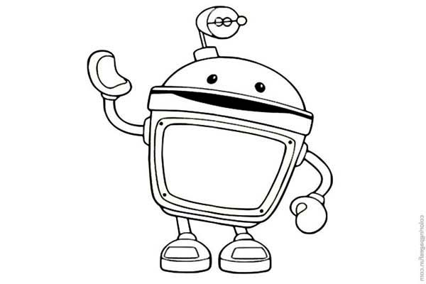 Team Umizoomi Bot Coloring Pages. team umizoomi coloring pages ...