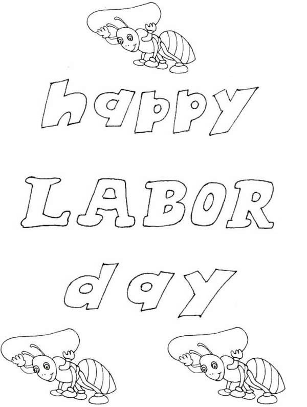 happy labor day coloring page color luna
