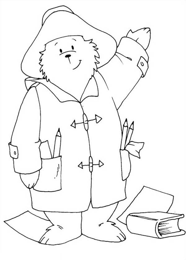 amazing paddington bear the architect coloring page color luna kids n fun with bears coloring pages