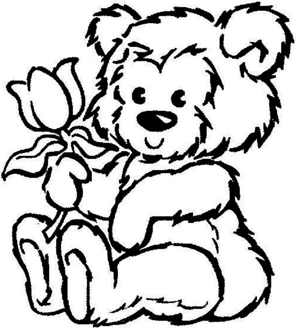 coloring pages of teddy bears teddy bear coloring pages
