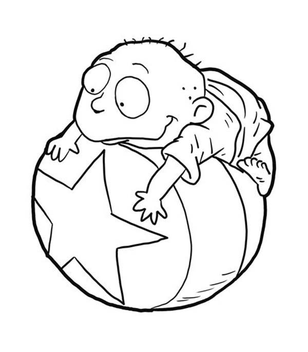 Rugrats Tommy Coloring Pages Rugrats Coloring Pages Print