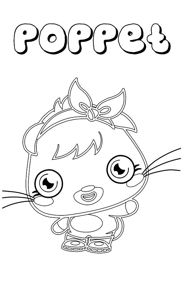 cute poppet moshi monster coloring pages color luna