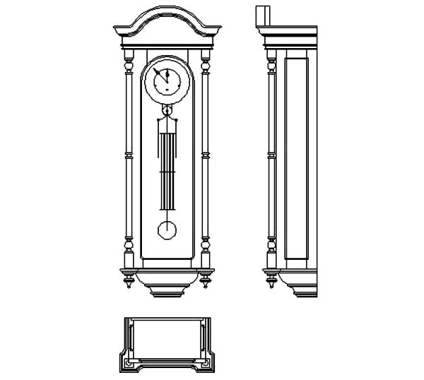 Grandfather Clock Coloring Page Grandfather Clock Colouring Pages