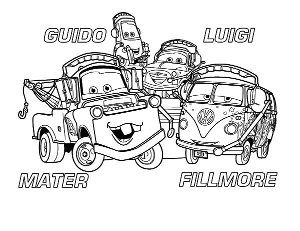 mater and friends coloring pages color luna