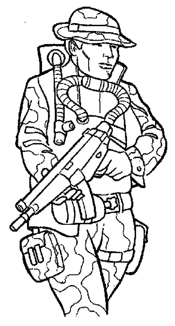 military marching soldier coloring pages color luna
