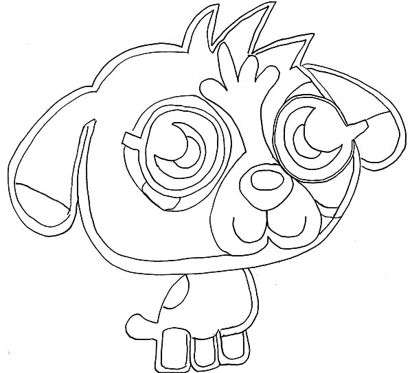 Moshi Monsters Coloring Pages Poppet. moshi monsters poppet ... | 544x600