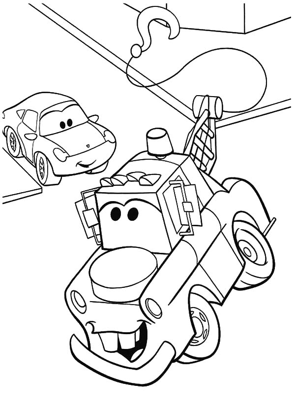 tow mater coloring pages cars 2 mater coloring pages free huiltur