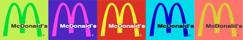 mcd in 5 colors