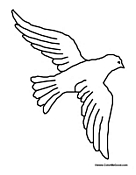 dove coloring pages